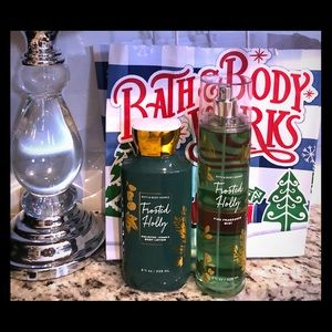 A gorgeous duo of Bath and Body lotion/fragrance